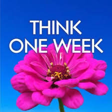 Think One Week