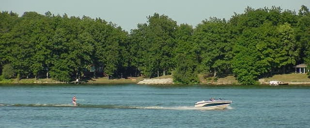 Boating on the Lake in Mattoon