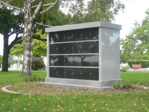 Dodge Grove Cemetery cremation niche