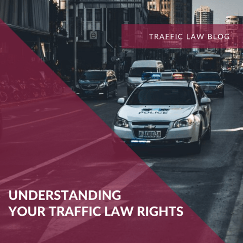 Traffic Blog: Understanding Your Traffic Stop Rights