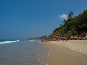 South cliff - Varkala Beach