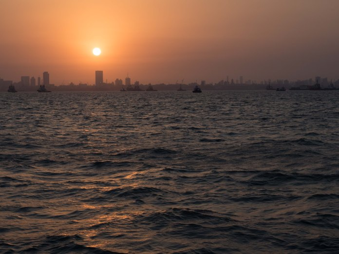 A beautiful Mumbai sunset
