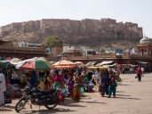 Clock tower markets, Jodhpur