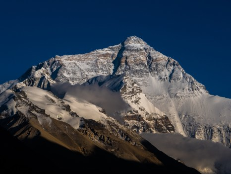 Mt Everest in full glory