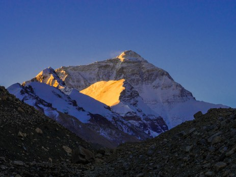 Sunrise over Mt Everest