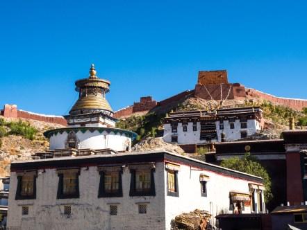 The Pelkor Chode Monastery in Gyantse