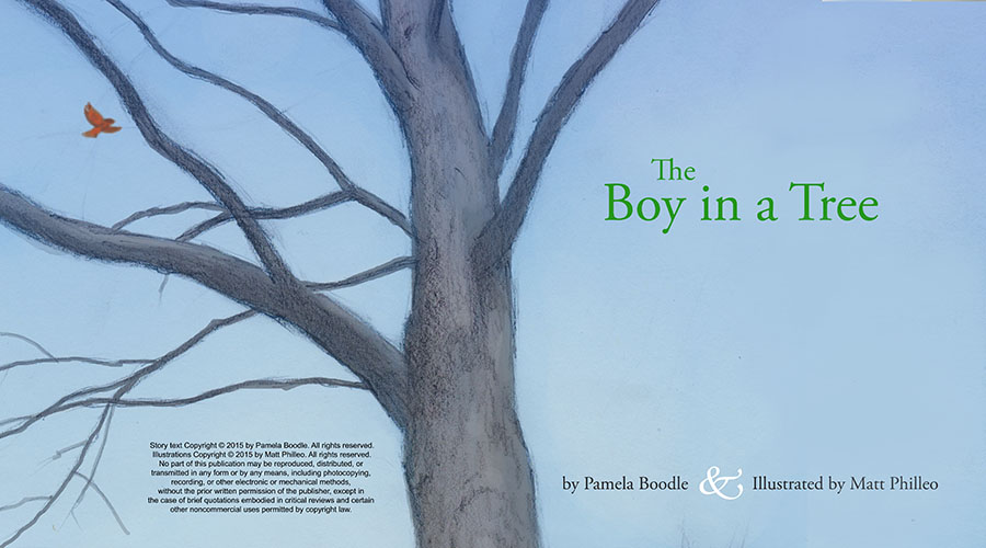 """The Boy in a Tree,"" Intro Page 2"