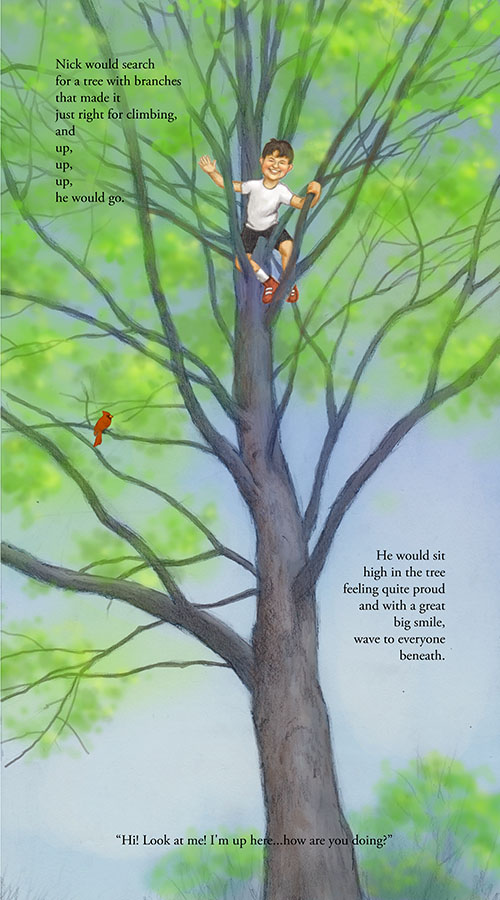 """The Boy in a Tree,"" Page 5 & 6"