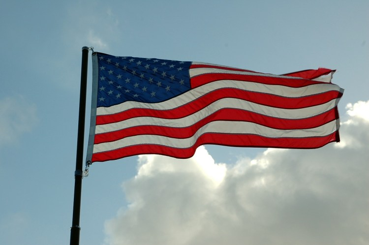 American Flag, public domain photo