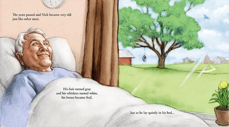 Elderly person, children's book, Matt Philleo