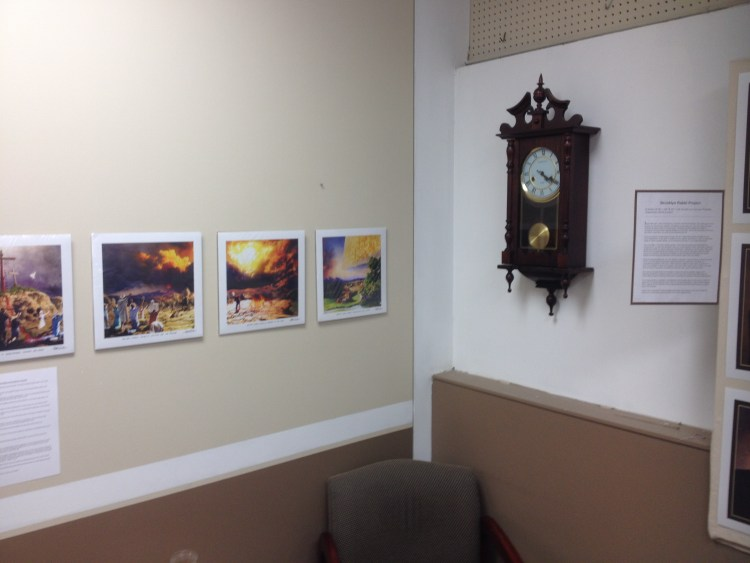 Prints of the 4' x 28' mural at Bethel Church, Eau Claire, WI