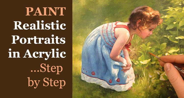 Paint Realistic Acrylic Portraits