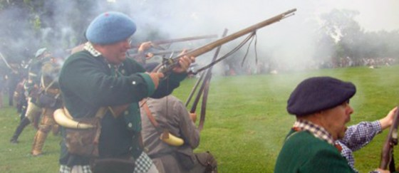 French and Indian War Reenactors