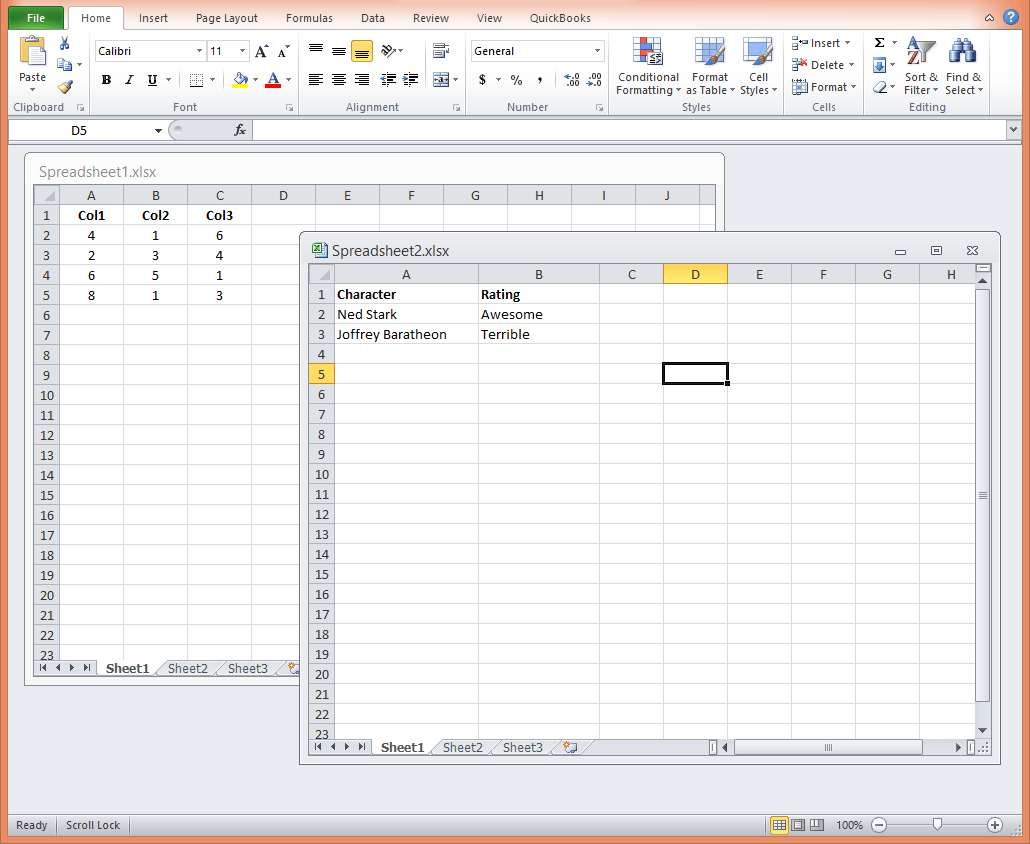 How To Open Excel Spreadsheets In A New Window