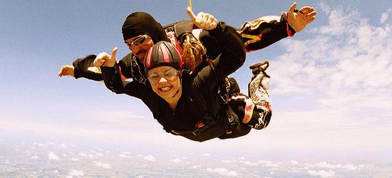 free fall as an entrepreneur