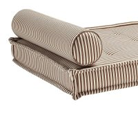 DHP Daybed Foam Mattress and 2 Bolster Pillows, Brown ...