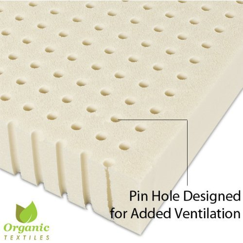 All Natural Latex Non Blended EXTRA FIRM Mattress Topper 2