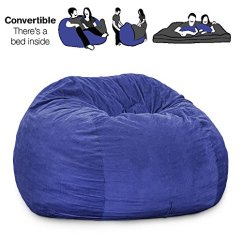 Corduroy Bean Bag Chair White Leather Accent Canada Cordaroy S Navy Blue Beanbag King Sleeper Home Shop
