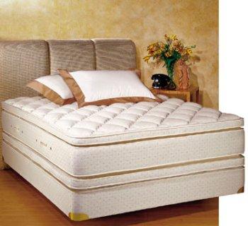 royal pedic king size pillowtop mattress w box spring
