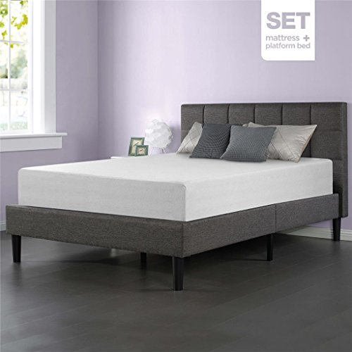 Sleep Master Memory Foam 12 Inch Mattress And