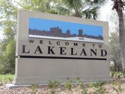 Lakeland, Florida welcome sign