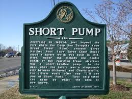 Short Pump, Virginia historical marker