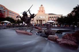 Sugar Land, Texas town square