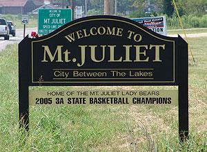 Mount Juliet, Tennessee