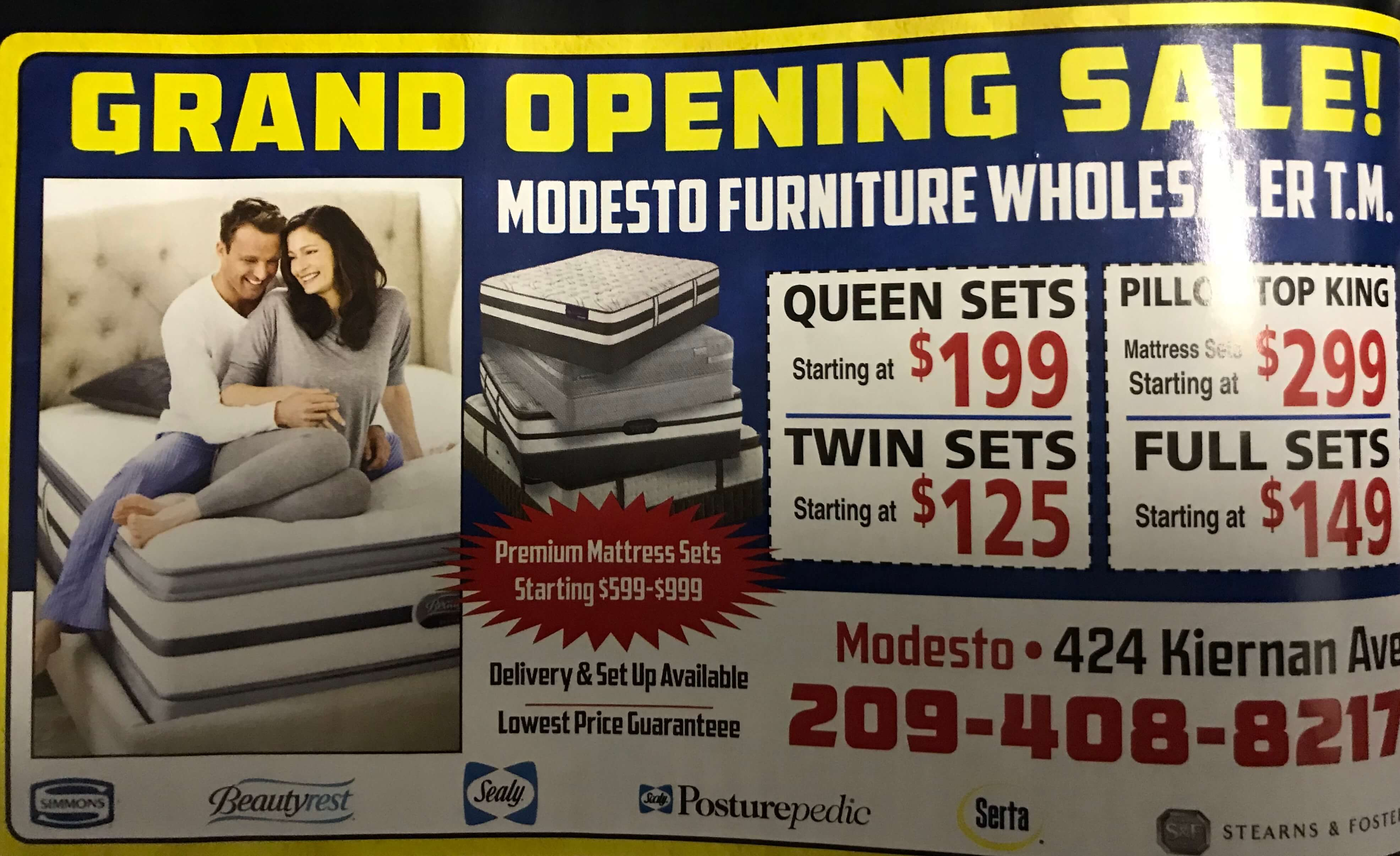 Professional Mattress Bedding And Furniture Store In Modesto Ca 95356