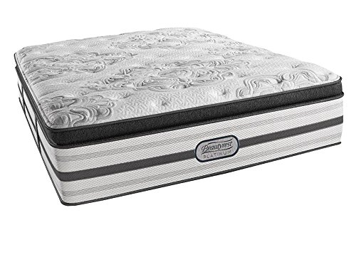 beautyrest simmons recharge platinum gabriella plush pillow top mattress aircool max gel memory foam king