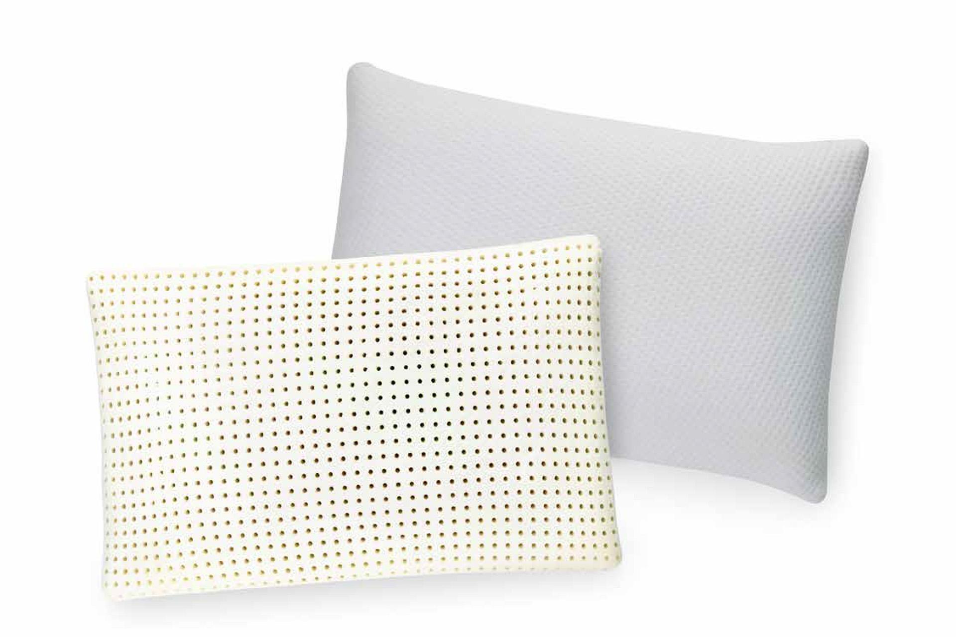 ventilated memory foam pillow