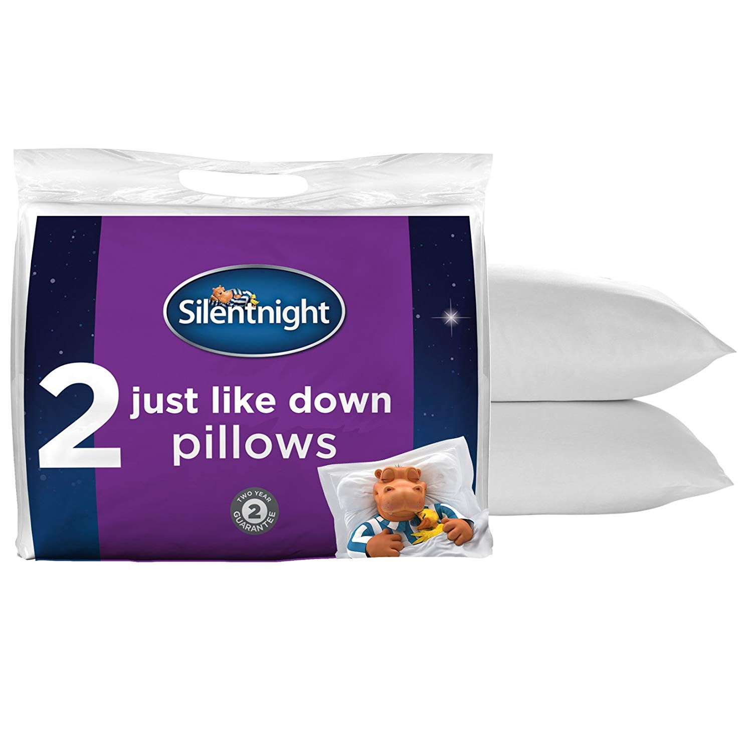 Silentnight 'Just Like Down' Microfiber Pillow