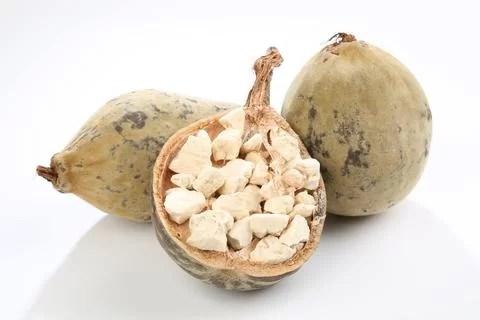 Opened baobab fruit