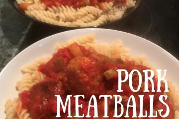 pork meatballs - insta