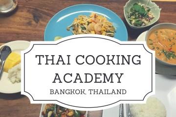 Thai Cooking Academy, Bangkok, Thailand