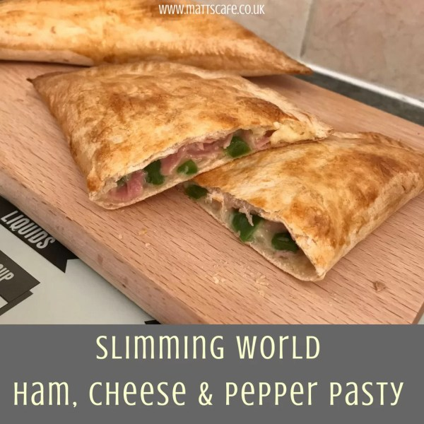 Slimming World Syn Free Ham cheese and pepper pasty