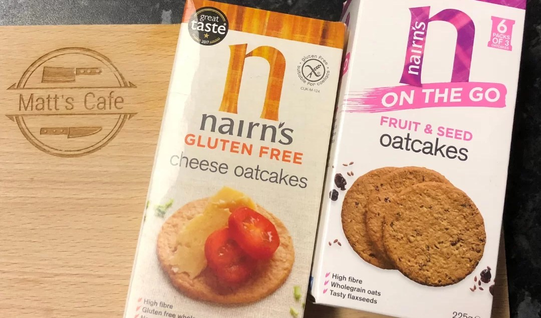 Nairn's Box of Gluten Free and Fruit and Seed Oatcakes