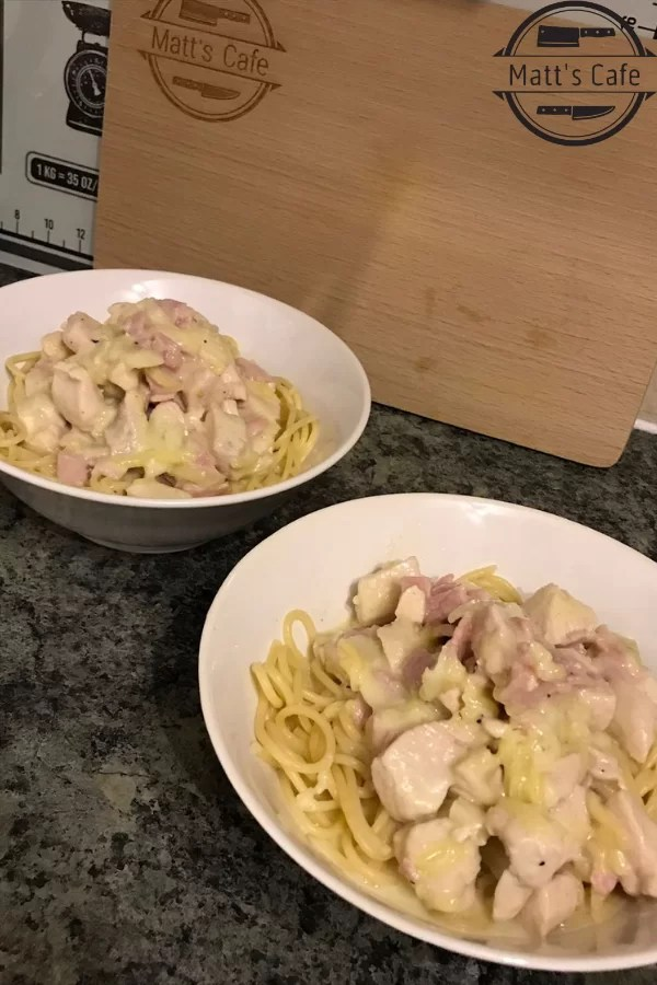 Slimming World Syn Free Chicken Spaghetti Carbonara, Chicken Carbonara, Spaghetti Carbonara, syn free