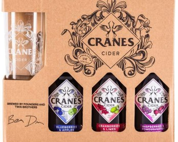 Cranes Drinks - Cider Gift Set Competition