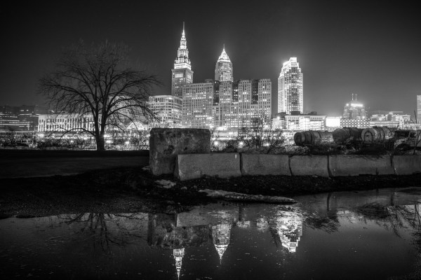 Cleveland In Black And White Matt Shiffler
