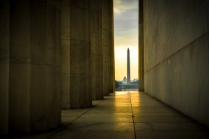 washington monument lincoln memorial