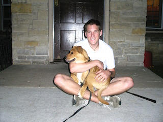 Matt with Tyson in Wisconsin.