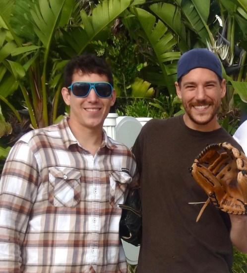 Brian and Matt