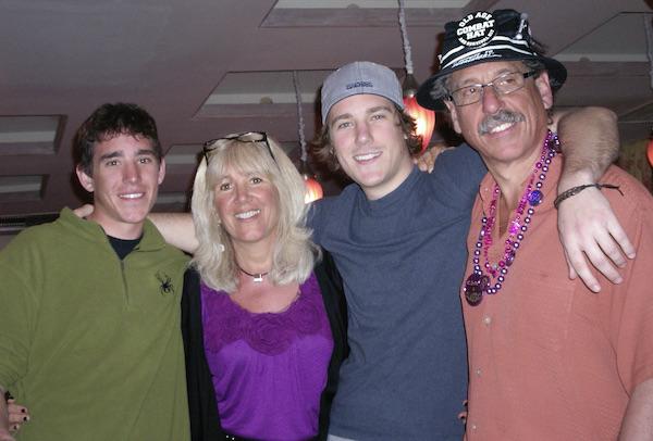 Matt Kurtz and family