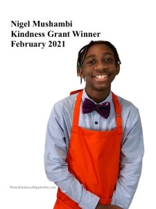 Nigel kindness Grant winner