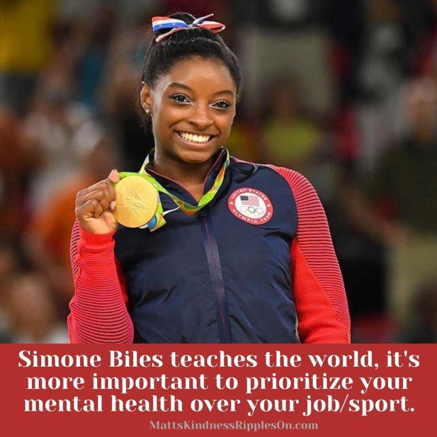 Simone Biles Mental Health