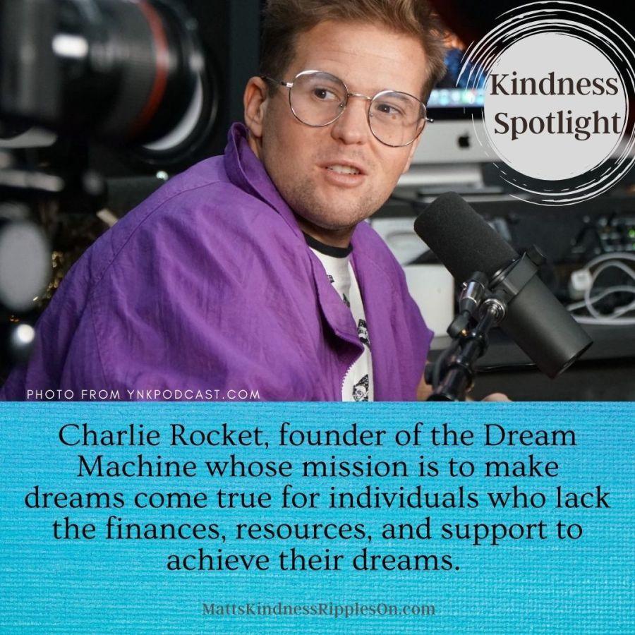 Charlie rocket dream machine