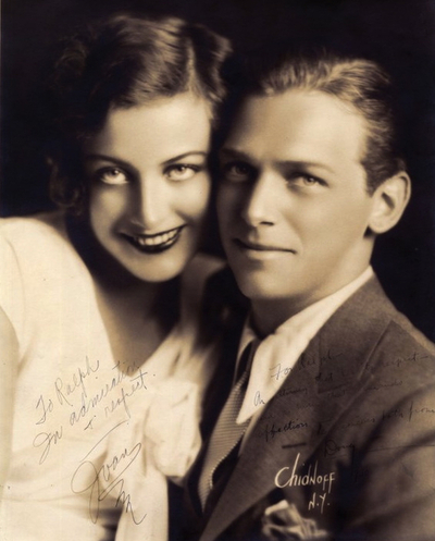 Joan Crawford and Douglas Fairbanks Jr 1930  Matthews