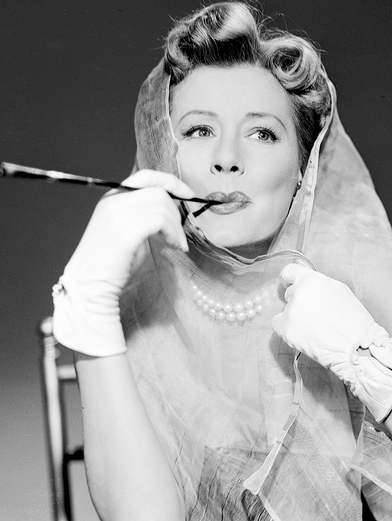 Irene Dunne with a cigarette holder 1952  Matthews Island of Misfit Toys