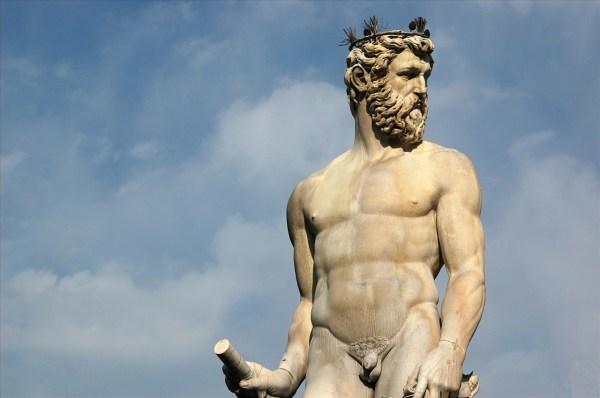 Zeus Statue In Florence Firenze Matthew' Island Of